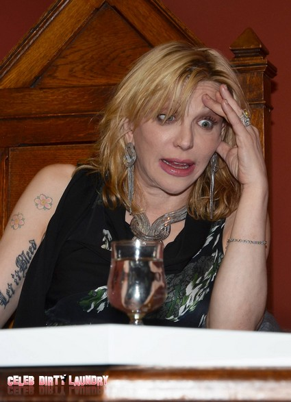 Read It And Weep: Courtney Love Now Lindsay Lohan's Sober Coach
