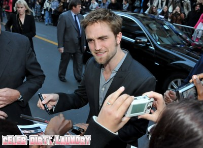 Robert Pattinson Too Famous for the UK!