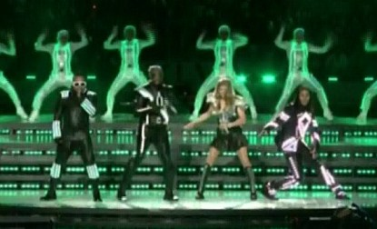 Fergie and The Black Eyed Peas Performing at The 2011 Super Bowl Half Time Show