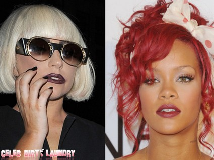 Rihanna, Lady Gaga Battle It Out To Become Online Queen