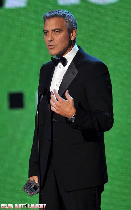 George Clooney Up For Another Award