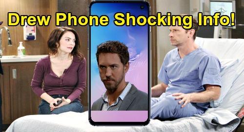 General Hospital Spoilers: Drew's Phone Shocking Reveal - Incriminating Information Against Peter Left Behind?