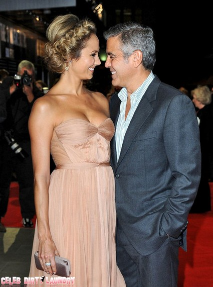 George Clooney, Stacey Keibler Most Boring Hollywood Couple?