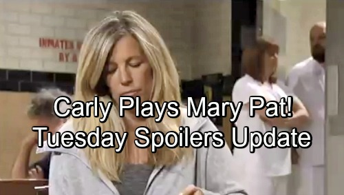 General Hospital Spoilers: Tuesday, June 19 Update – New Promo Video - Carly Plays Mary Pat's Game, Jason Spies