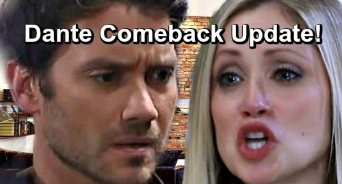 General Hospital Spoilers: Dante Comeback Update – Dominic Zamprogna Spills Exciting New Details