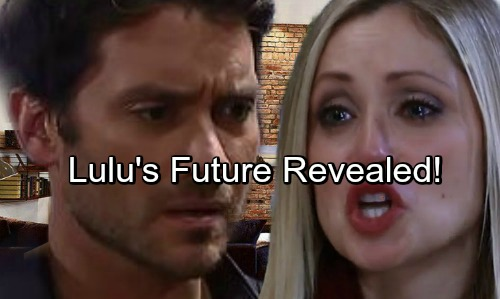 General Hospital Spoilers: Lulu's Romantic Future Revealed – Dominic Zamprogna's Dante Exit Brings Big Changes