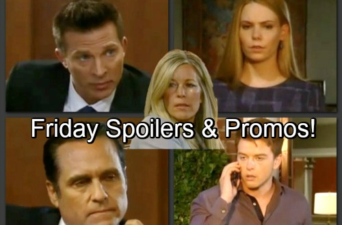 General Hospital Spoilers: Friday, June 8 – Nelle Suspicious of Michael – Jason and Sonny Grilled – Kiki Goes Public