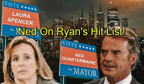 General Hospital Spoilers: Heartbreaking Quartermaine Crisis – Deadly Threat for Ned, Scores Spot on Ryan's Hit List