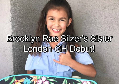 General Hospital Spoilers: Casting News Shocker - Brooklyn Rae Silzer's Sister Londyn Silzer Makes GH Debut