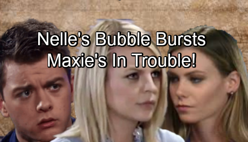 General Hospital Spoilers: Nelle Snaps as Michael and Baby Bubble Bursts – Insane Scheme Spells Trouble for Maxie