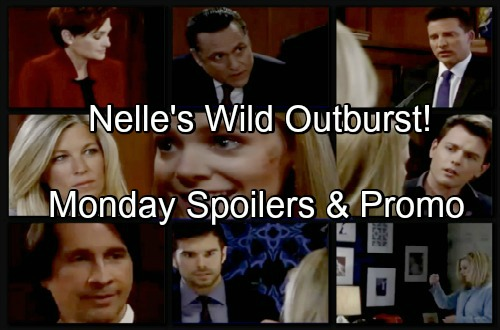 General Hospital Spoilers: Monday, June 11 – Carly Faces Terrible Curveball – Maxie's Haunted by the Past – Nelle's Wild Outburst