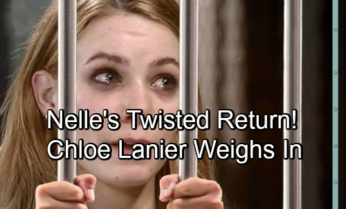 General Hospital Spoilers: Nelle Returns for Another Twisted Move – Chloe Lanier Weighs In on Baby Swap Mayhem