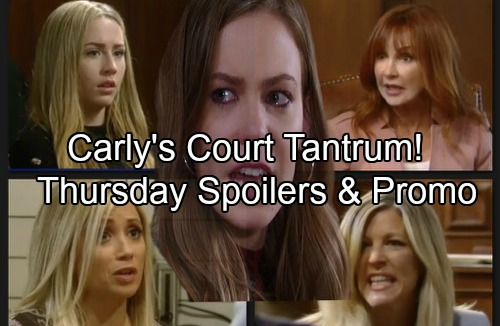 General Hospital Spoilers: Thursday, June 7 – Carly Explodes at Nelle in Court – Josslyn Takes the Stand – Griffin's Guilty