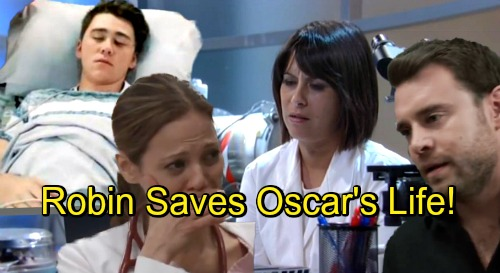 General Hospital Spoilers: Robin's Return Brings Miracle For Oscar – Teams Up With Patrick To Save His Life