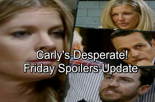 General Hospital Spoilers: Friday, June 15 Update – Mike Reveals Memories – Carly Struggles – Oscar Confesses to Drew - Peter Pleads