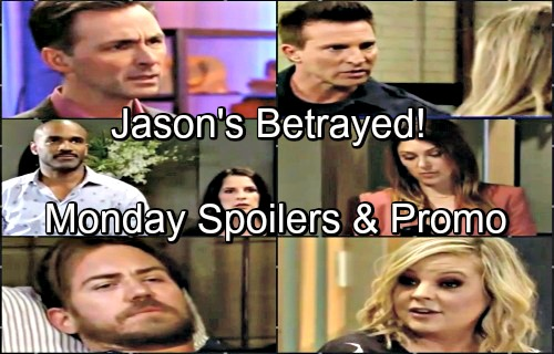 General Hospital Spoilers: Monday, June 25 – Sam Handles Margaux's Threat – Jason Fears Kevin's Betrayal – Maxie Seeks Advice