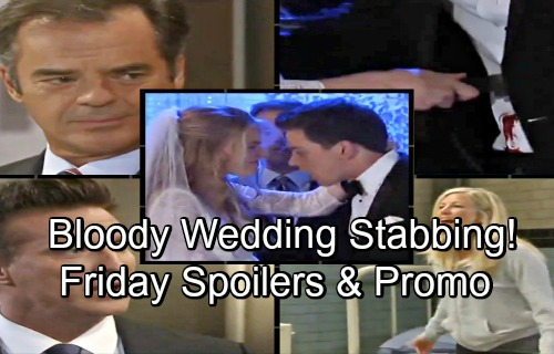 General Hospital Spoilers: Friday, July 13 – Nelle Stabs Michael on Bloody Wedding Day of Doom – Carly Escapes Ferncliff