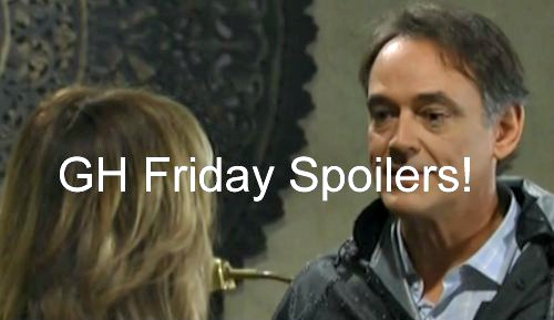 'General Hospital' Spoilers: Dillon Gets Darby to Cheat With Morgan - Kevin Follows Laura - Claudette Sees Griffen