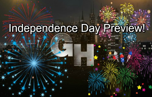 General Hospital Spoilers: GH Independence Day Preview – Sizzling Bombshells, Fun Celebrations and Major Fireworks