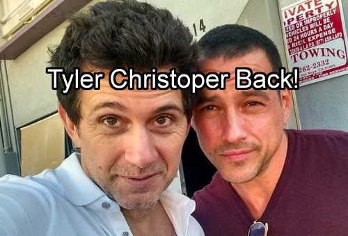 'General Hospital' Spoilers: Tyler Christopher Back to GH - Lulu Scours Cassadine Island for Embryo – Discovers Nikolas Instead
