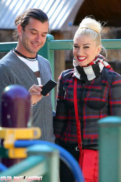 Family Time For Gwen Stefani