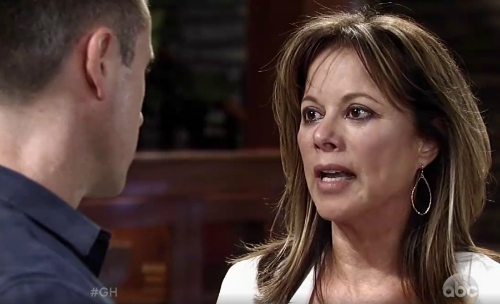 General Hospital (GH) Spoilers: Hypocrite Carly Demands Alexis Stop Protecting Mob Hubby