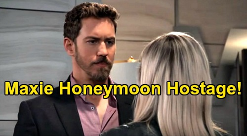 General Hospital Spoilers: Maxie's a Honeymoon Hostage – Peter Flees with New Wife & Unborn Child?