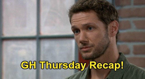 General Hospital Recap: Thursday, August 6 - Jason's Motorcycle Accident After Brando & Cyrus Meet - Dante Refuses Therapy