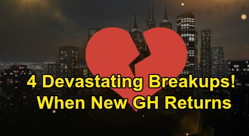 General Hospital Spoilers: 4 Devastating Breakups Brewing – Major Couples Crash and Burn When New GH Episodes Return