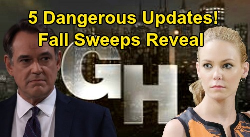 General Hospital Spoilers: 5 Dangerous Fall Sweeps Updates – Nelle Drama, Dante Shockers, Ryan's Threat and More
