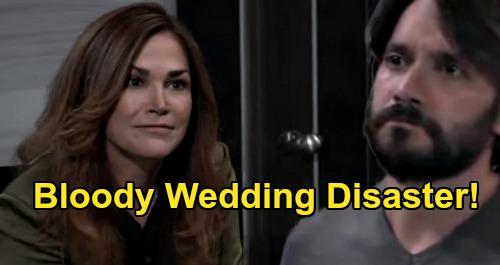 General Hospital Spoilers: Bloody Wedding Disaster, Jackie Unintended Victim of Dante's Peter Destruction?