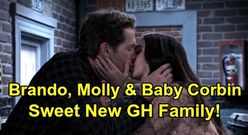 General Hospital Spoilers: Brando, Molly & Baby Corbin Are Sweet GH Family of the Future – Time for TJ Breakup, New Love Story?