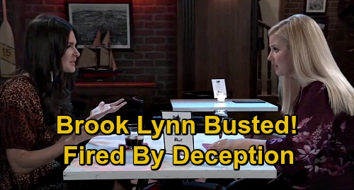 General Hospital Spoilers: Brook Lynn's Singing Fraud Publicly Outed - Fired As The Voice Of Deception, What's Next For BLQ?