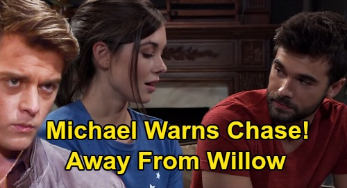 General Hospital Spoilers: Chase & Michael's Willow War – Protective Husband Warns Lying Ex Away After Fake Affair Exposure?