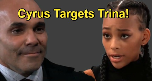 General Hospital Spoilers: Cyrus' Revenge on Taggert, Trina Becomes Deadly Target – Daughter at Risk in Baddie's Imminent Blast?