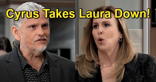General Hospital Spoilers: Cyrus Takes Laura Down - Finds Out Spencer Rigged Election, Ousts Mayor Collins?