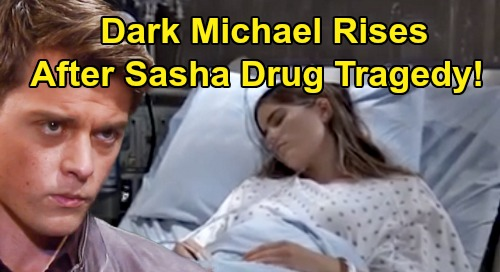 General Hospital Spoilers: Dark Michael Rises After Sasha Drug Tragedy - Willow Shocked By Husband's Angry Side?