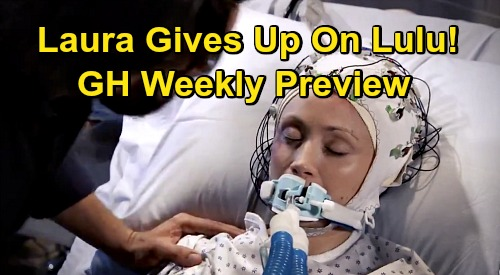 General Hospital Spoilers: December Preview - Ava Shoots Julian - Dante Fights Laura Over Lulu's Fate - Ned Busted