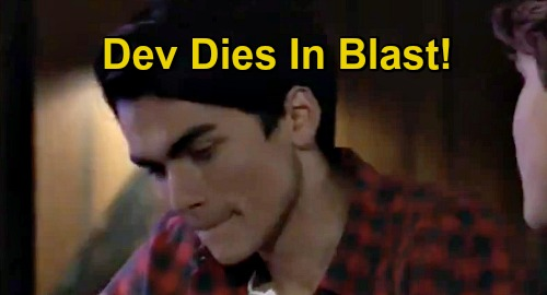 General Hospital Spoilers: Dev Dies in Blast Meant for Jason – Fateful Meeting with Cam Ends with a Bang?