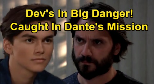 General Hospital Spoilers: Dev In Deadly Danger - Caught In Dante's Desperate Mission?