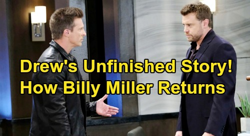 General Hospital Spoilers: Drew Cain's Story Unfinished, 3 Ways to Get Billy Miller Back – Bombshell Return Helps GH