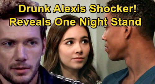 General Hospital Spoilers: Drunk Alexis Blows Up Molly & TJ's Commitment Ceremony – Exposes Brando One-Night Stand