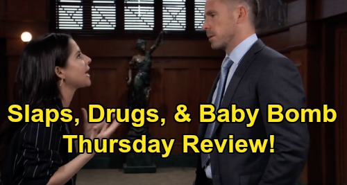 General Hospital Spoilers: Final New Episode Review - Nina Takes The Stand - Maxie Baby Bomb - Sam Slaps Julian