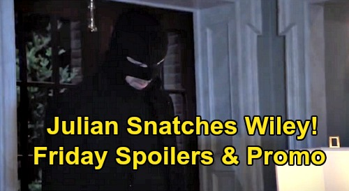 General Hospital Spoilers: Friday, August 21 – Bloody Brook Lynn Discovery, Ned and Olivia Horror – Julian Snatches Wiley