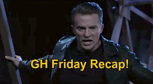 General Hospital Spoilers: Friday, December 18 Recap - Sonny Falls Off Bridge - Julian Dies - Laura Learns Cyrus' History