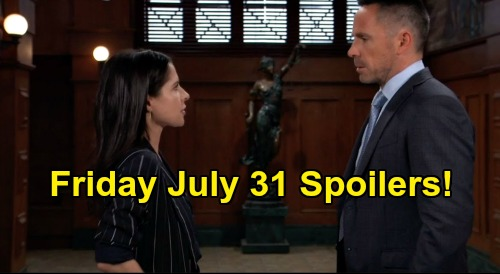 General Hospital Spoilers: Friday, July 31 – Final Encore Before New GH Episodes Start – Nelle Good Mom Act – Sam Attacks Julian