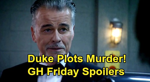 General Hospital Spoilers: Friday, May 29 – Liz Wants Jake, Won't Spill Jason Truth – Duke Plans Jordan's Murder