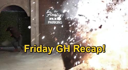 General Hospital Spoilers: Friday, November 20 Recap - Julian Detonates Bomb - Dustin Proposes To Lulu - Alexis' Intervention