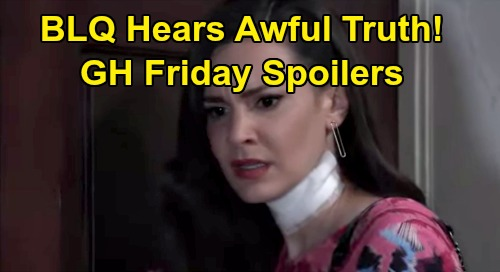 General Hospital Spoilers: Friday, October 16 Recap - BLQ Learns Ned's Cheated - Ava's Onto Scott - Dev Betrays Best Friends