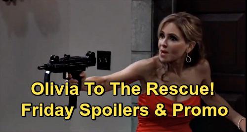 General Hospital Spoilers: Friday, September 18 – Avery Goes Missing, Ava Panics – Armed Olivia's Rescue – Brando & Molly Face Off